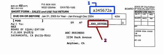 Sales tax car registration california 13