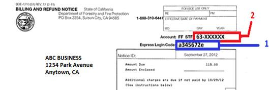 california sales tax return instructions