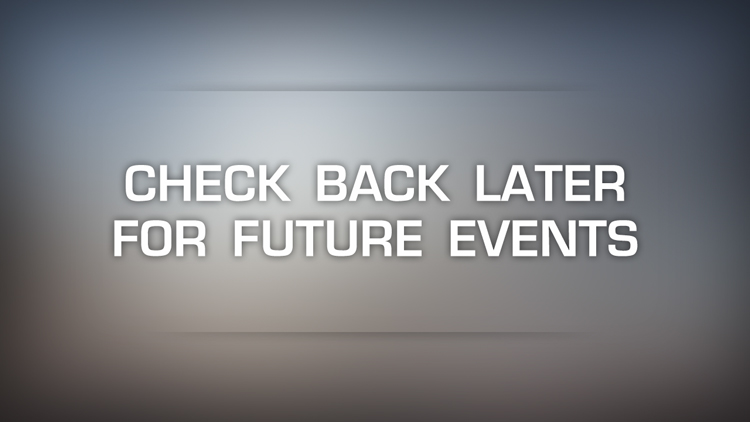 Check back later for future events