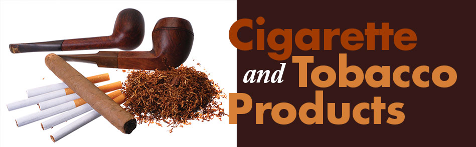Tax and Fee Guide for Cigarettes and Tobacco Products